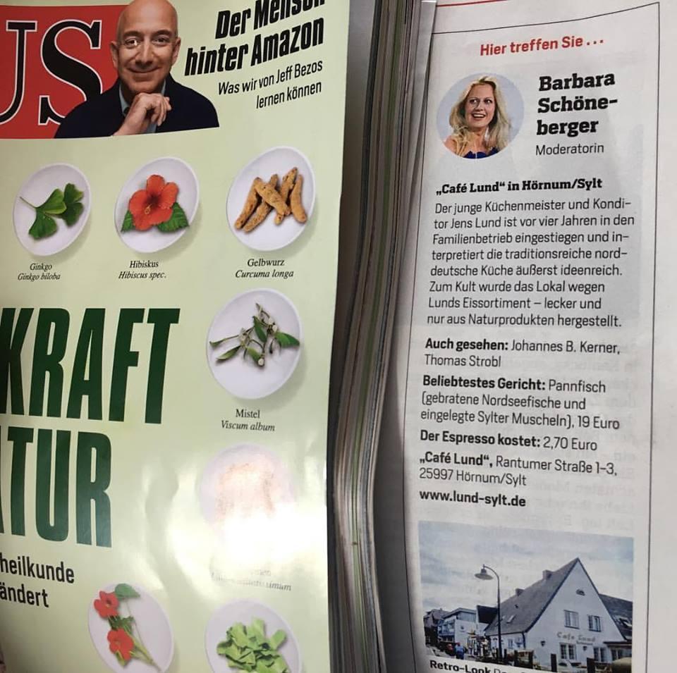 Lund Sylt im Focus magazin wien
