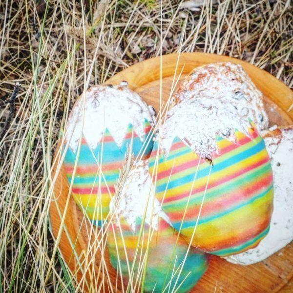 Sylter-Oster-Stollen-Ei dünengras